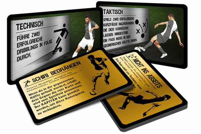 Hat-Trick - Taktik-Kartenspiel für Fußballfreunde