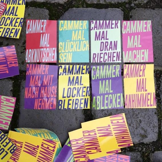 Cammer Sticker 10er-Set + Post von uns