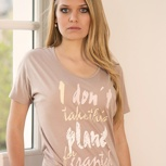 passion for planet no1 – women shirt nude oversized