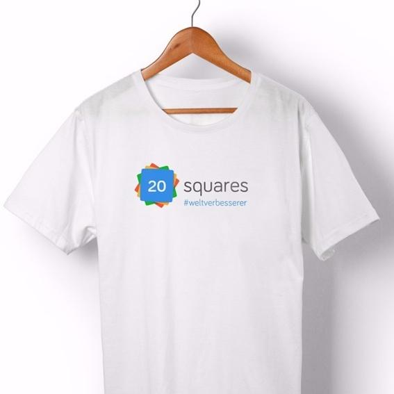 Dein persönliches 20squares T-Shirt