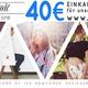 40 Euro Einkaufsgutschein für unseren Online Shop