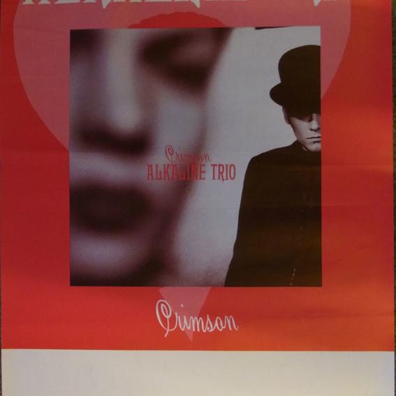 Alkaline Trio Tourplakat 2005