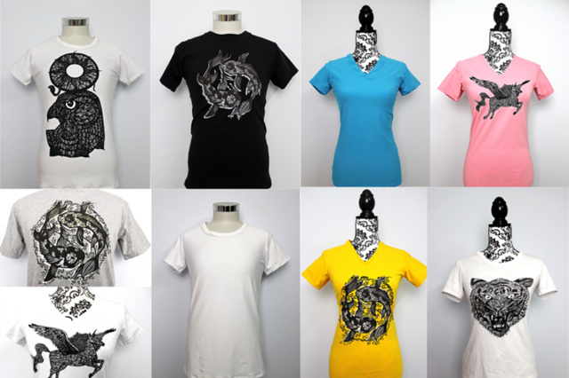 K-Artworks Design T-Shirts 100% Handmade