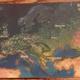 15 Lose, wie oben, plus holographische Postkarte von Europa bei Tag/Nacht