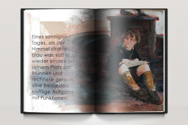Märchenbuch: Der kleine Rechenschieber