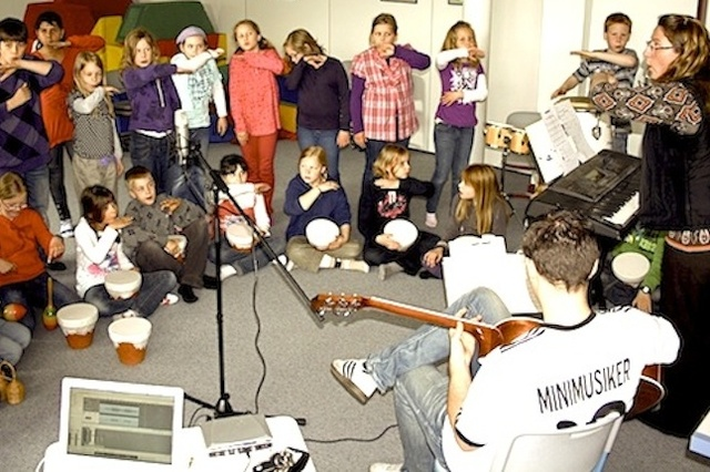 Minimusiker / Kleine Musiker - ganz groß!