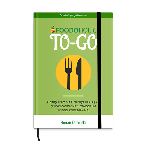 Foodoholic to-go Planer + Zugang zur exklusiven Facebook Gruppe