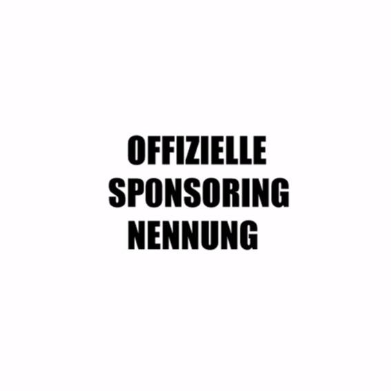 Offizielle Sponsoren Nennung