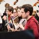 Probenbesuch im Orchester