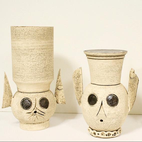 Keramikplastik - Kopf