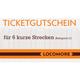 Ticket voucher C, 6 short distance rides
