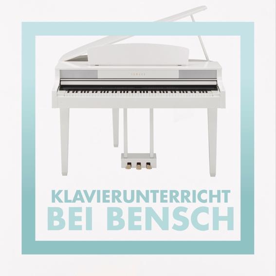 5-er Karte Klavierunterricht bei Bensch
