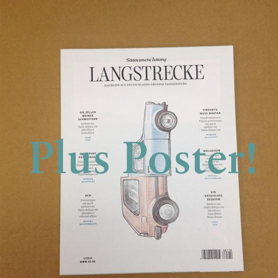 Frühbucher Magazin (plus Poster)