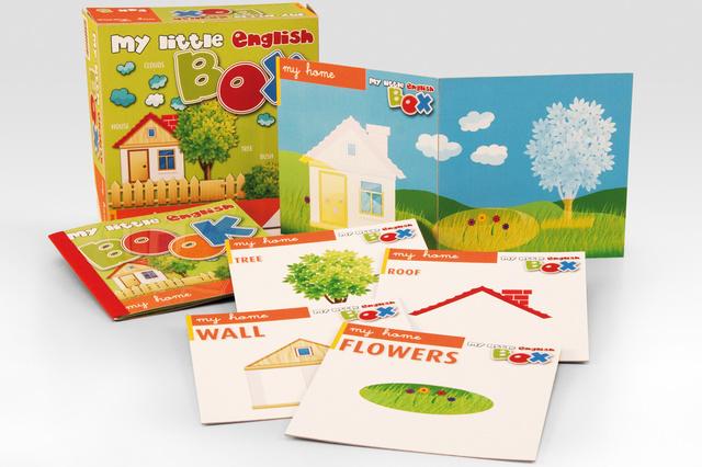 My little English BOX: 5 Themenboxen zum Englisch-Lernen für Kin