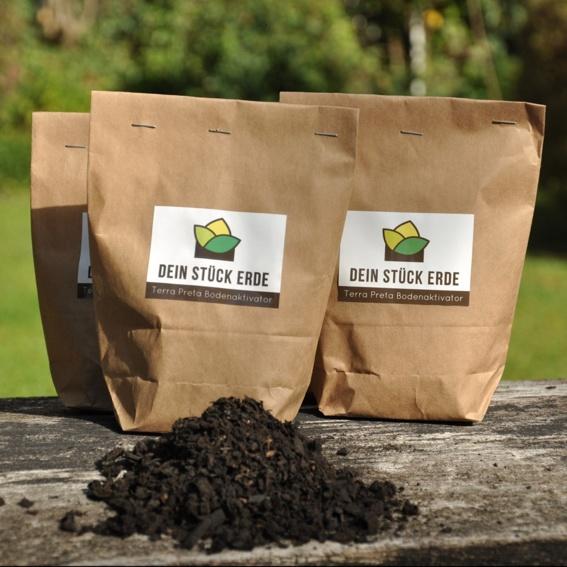 2 Packungen zu je 500 ml Terra Preta Bodenaktivator