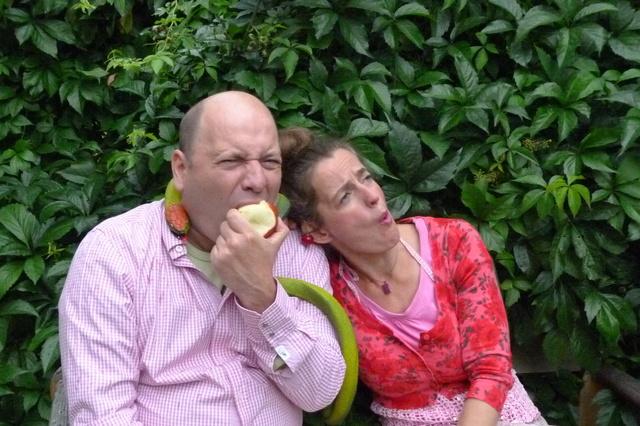 Adam und Eva oder Esst mehr Obst!