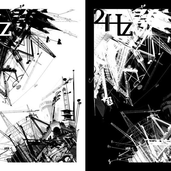Kunstdruck 24Hz Festivalposter