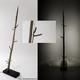 HEUlicht / HAYlight - Design-Stehlampe aus altem Heumandl (+ 5% Buchungsrabatt, + Name auf Wall of Heustadlsavers)