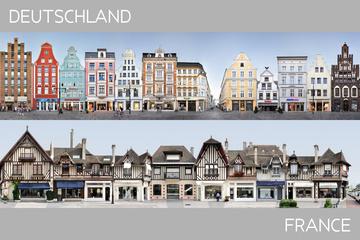 DE | FR Partnerstädte in Streetline Stadtbildern