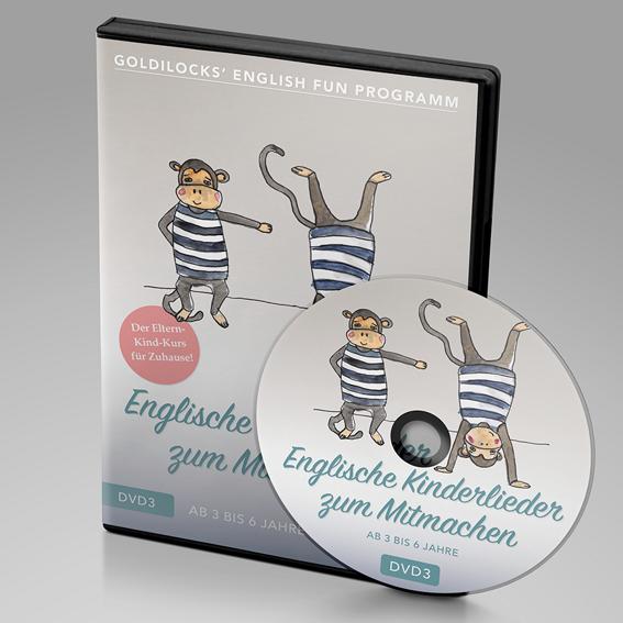DVD 3 für Kinder ab 3 - 6 Jahren (inkl. Handbuch)