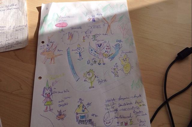 Jula Lunis Abenteuer-ein besonderes Kinderbuch