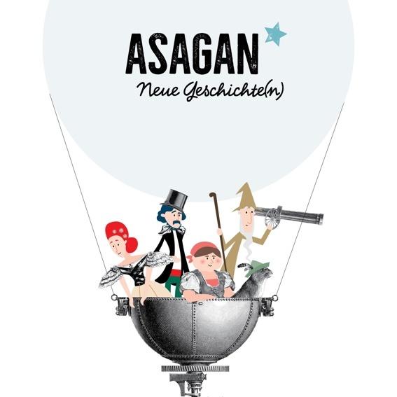 ASAGAN – das Buch x10 + 1 gratis