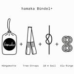 Der frühe Vogel fängt das hamaka Bündel+ (mit Alu-Ringen)