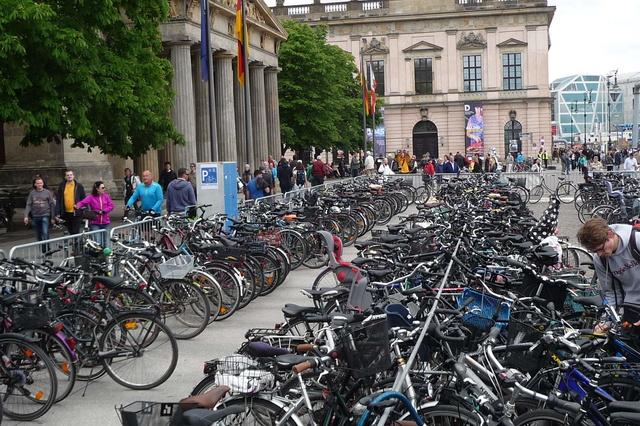 BIKE PARKING Fahrradparklogistik für Events