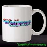 Die Internet Imbiss-Kaffeetasse