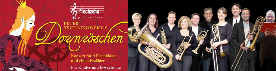 """Tschaikowsky's """"Dornröschen""""- Ensemble blechzehn (CD-Produktion)"""