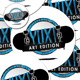 YUX! ART EDITION Stickers and Buttons