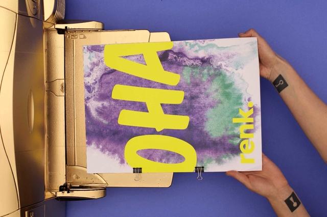 Das renk. Magazin erstmals Print