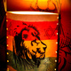 "Jah Light Lampe ""Face Of A Lion"", limited edition"