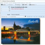 E-mailgrüsse aus Nashville