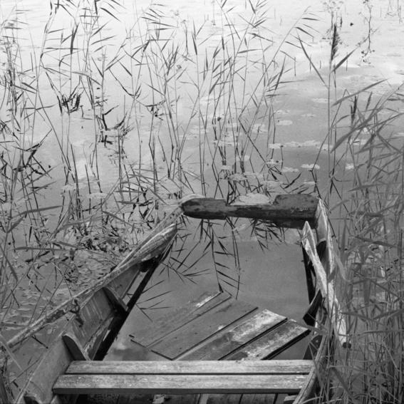 Signierter Fotoabzug 24/30 cm auf klassischem Barytpapier