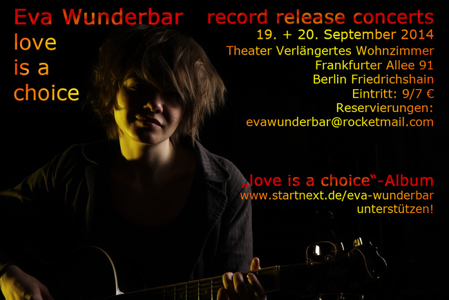 Eva Wunderbar Love Is A Choice