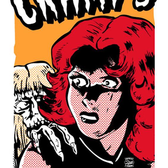 Original CRAMPS Siebdruckposter 19.9.2003 ! Rarität !