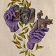 Druck Logo, Anubis, Vogel