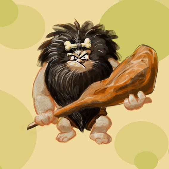 Sei der Neandertaler!