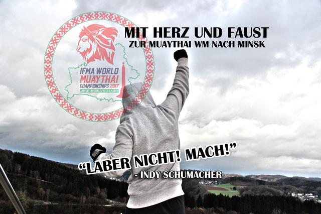 Mit Herz und Faust! Zur Muaythai WM nach Minsk!