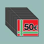 1250€ Mega Gutscheinheft