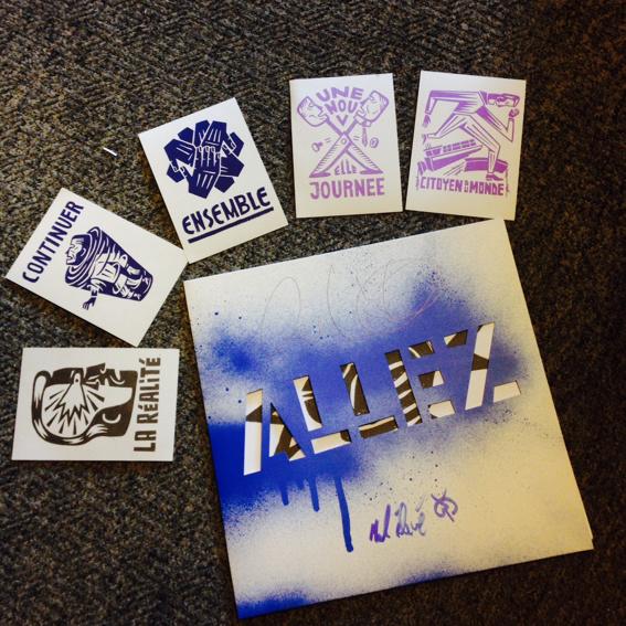 """Irie Révoltés """"Allez"""" Vinyl LP - signiert - mit 6 Kunstkarten"""