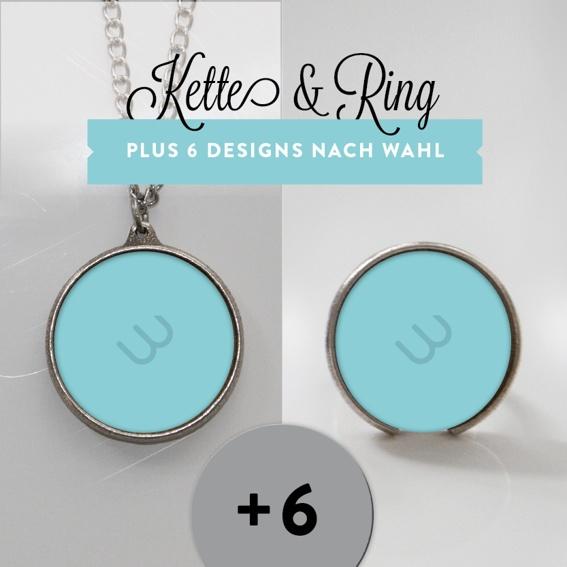 Ring & Kette mit 6 Designs (Einführungspreis!)