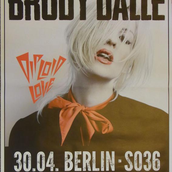 Poster Brody Dalle (leider nicht signiert)