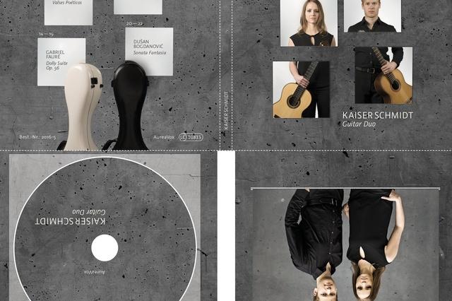 Kaiser Schmidt Guitar Duo - Debüt-Album