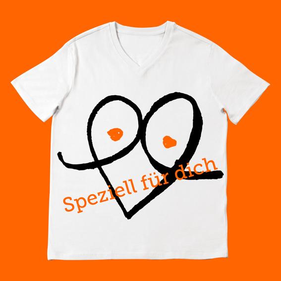 Ein Unikat: ein Shirtdesign nur für dich!