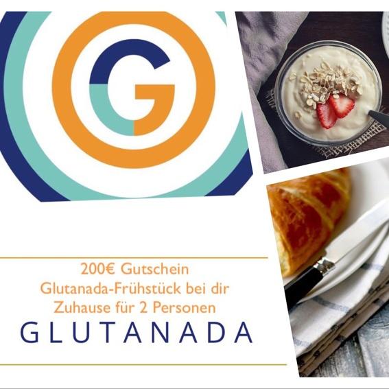 Glutanada-Frühstück bei dir zu Hause. Hergerichtet und geliefert von Glutanada für 2 Personen