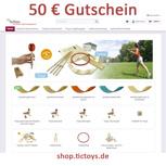 50€ Gutschein für shop.TicToys.de