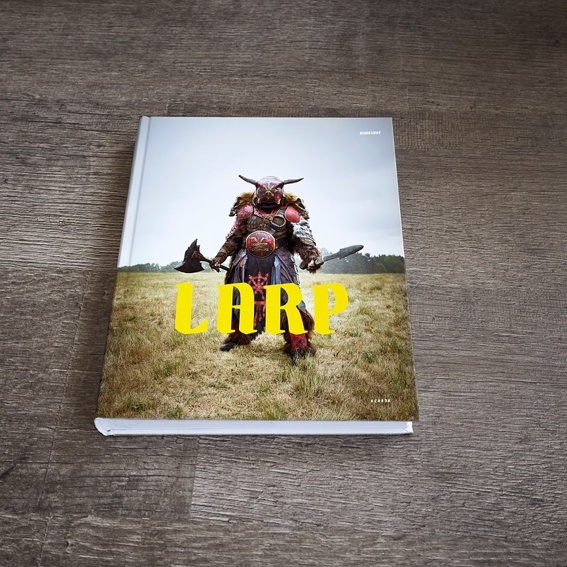 The LARP Book, signed by the artist + Fine-Art-Print printed on A3 Hanemuehle Photorag Ultra Smooth 305g, numbered and signed by the artist