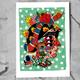 """DIN-A-4 Poster """"Ricardo Cavolo - Frida"""""""